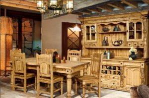 Столы и стулья в стиле Кантри